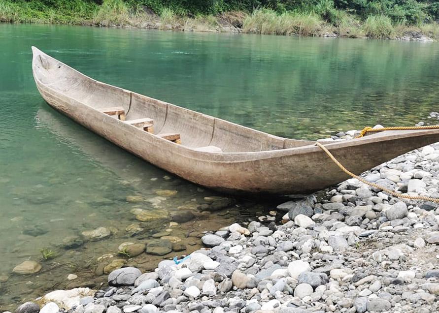 Native Boat Ride